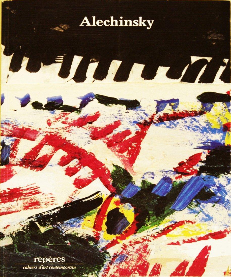 1014: 1984 Alechinsky Reperes #17 Book