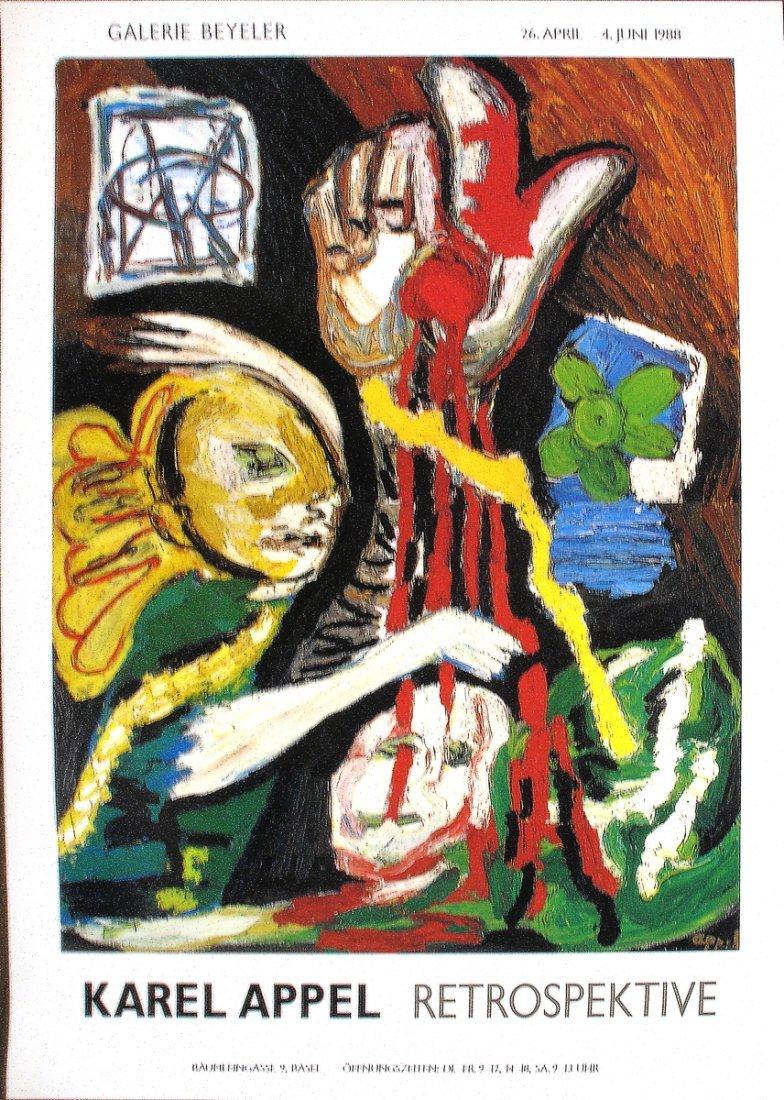 1016: 1988 Appel Retrospektive Poster