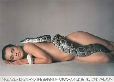 1021: 1981 Avedon Natassja Kinski & Serpent Poster