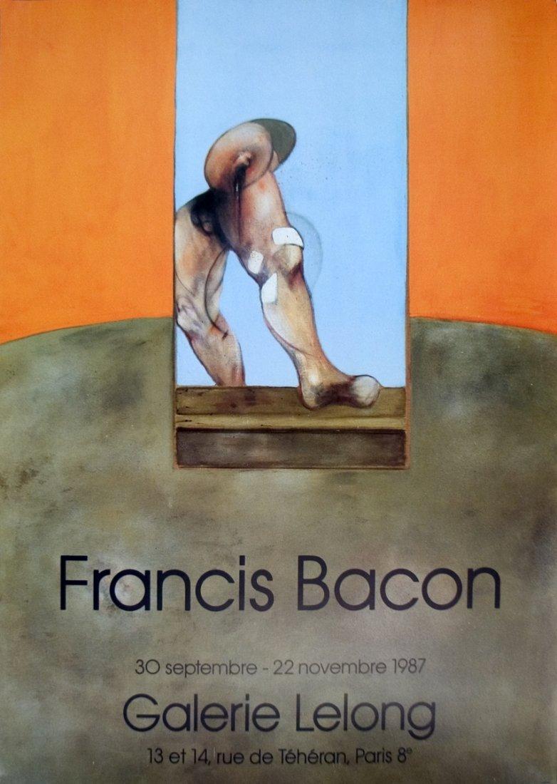 1023: 1987 Bacon Galerie Lelong Poster