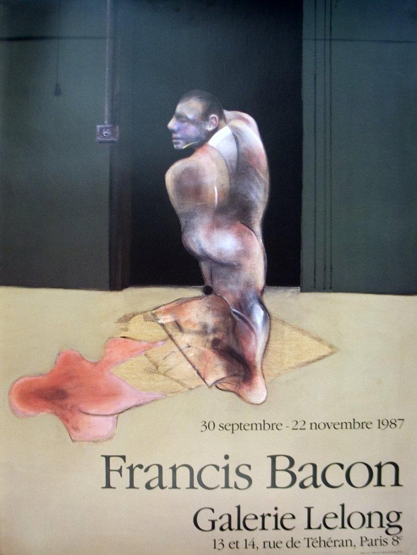 1024: 1987 Bacon Galerie Lelong Poster