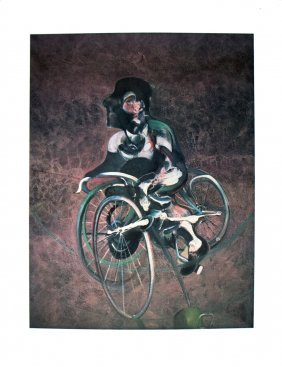 1003: 50 Bacon 1995 Georges a Bicyclette Posters