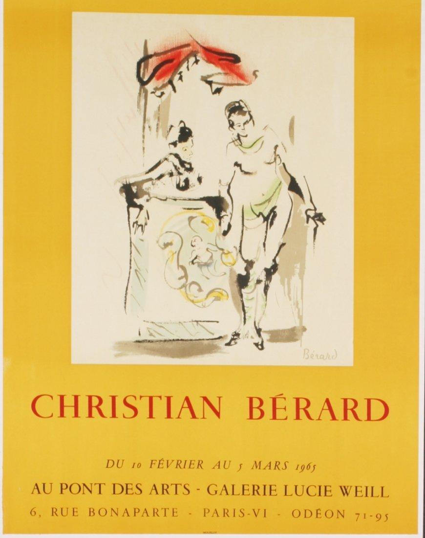 1009: 10 Berard 1965 Galerie Lucie Weill Mourlot Lithos