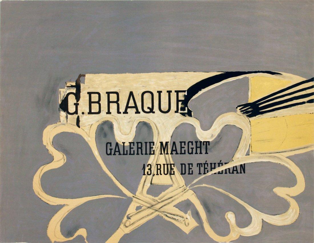1015: Braque Galerie Maeght Lithograph