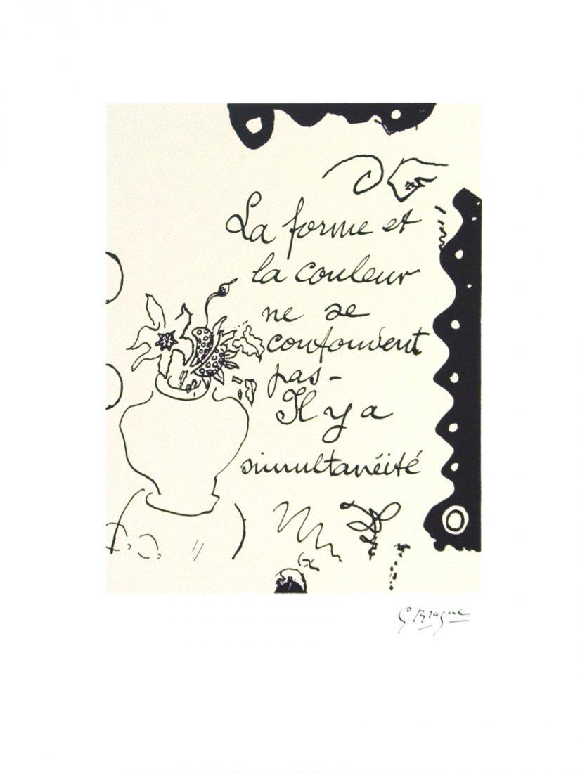 1017: 100 Braque La Forme Posters