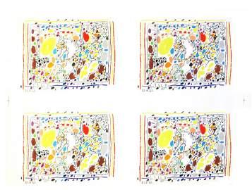 1507: 1961 Picasso Picador II-A Los Toros Mourlot Litho