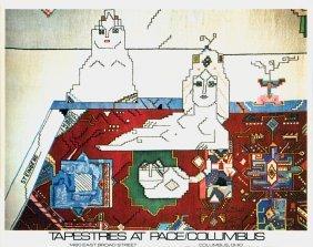 1555: 100 Steinberg 1977 Persian Rug Posters