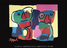 1006: 1986 Appel Galerie 33 Poster