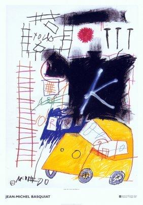 1018: Basquiat Untitled Poster