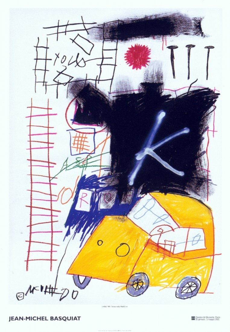 1018: Basquiat Untitled Poster