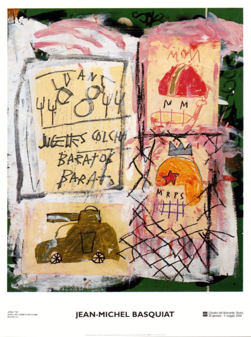 1019: Basquiat Untitled Poster