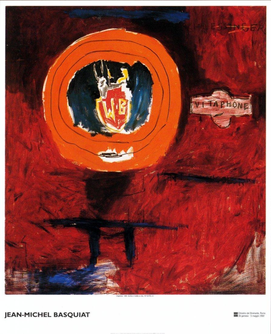 1020: Basquiat Vitaphone Poster