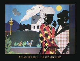 1024: 1993 Bearden The Conversation Poster