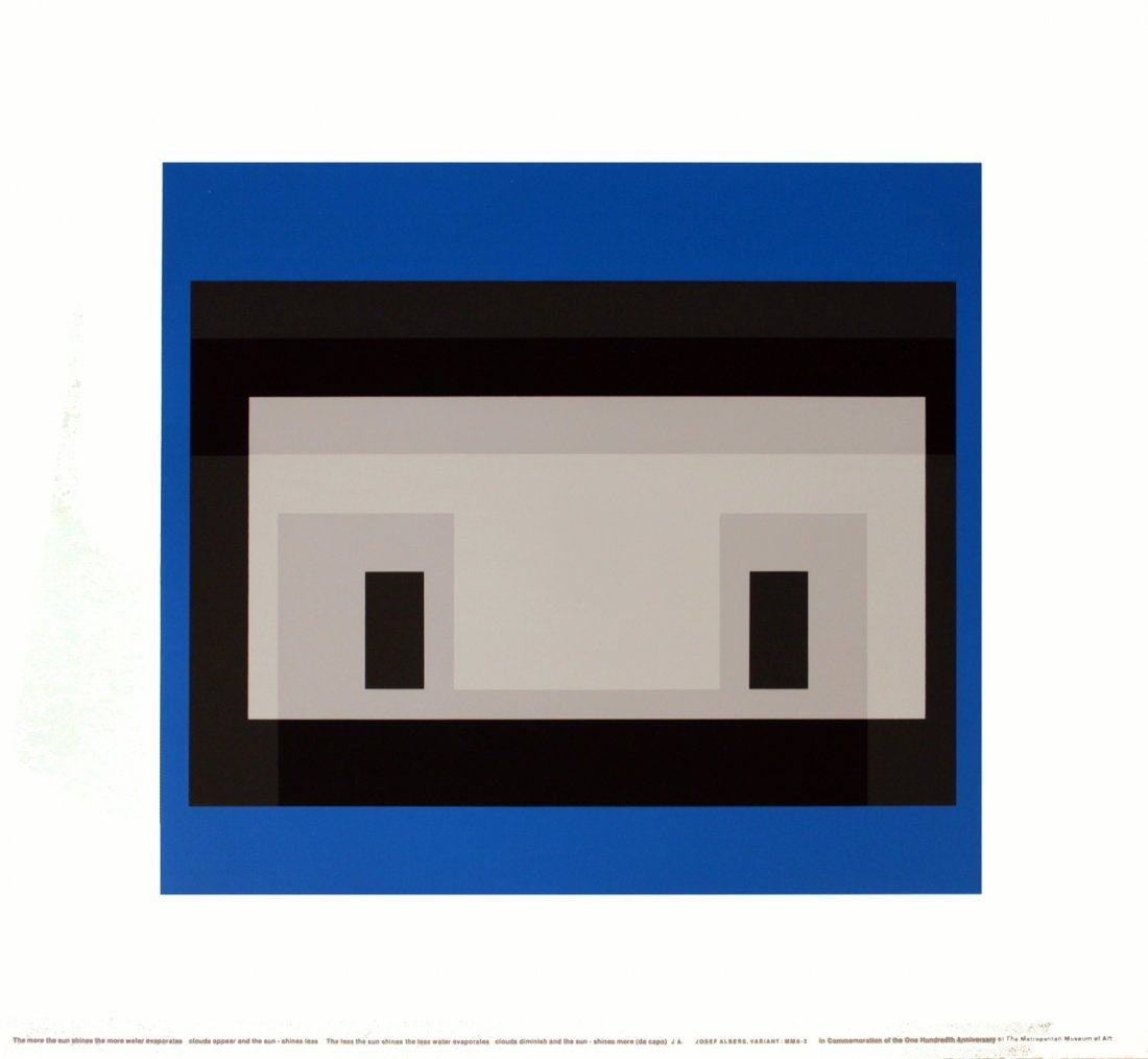 1970 Albers Variant: MM A-3 Serigraph