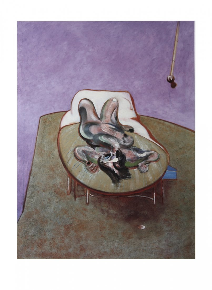 Bacon Reclining Figure Poster