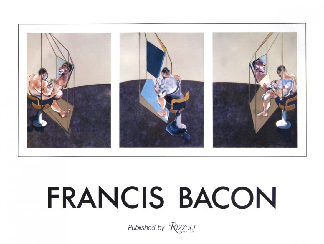 1983 Bacon Rizzoli New York Poster