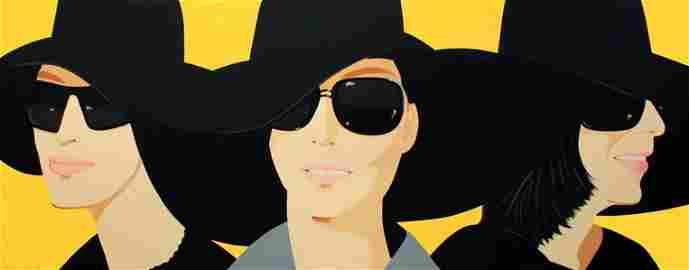 Signed 2012 Katz Black Hats IV Serigraph