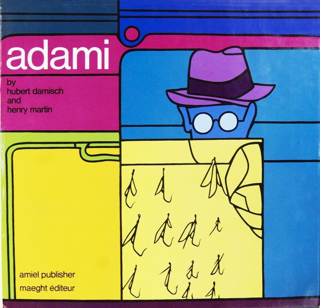 Signed Adami by Damisch and Martin Book
