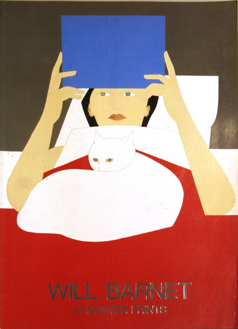 1979 Will Barnet 27 Master Prints Book