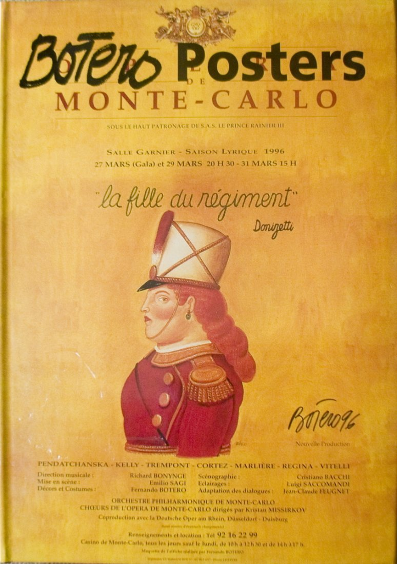2002 Botero Posters Book