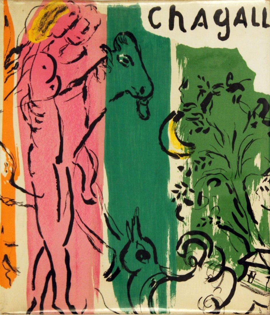 1957 Marc Chagall Jacques Lassaigne Mourlot Book