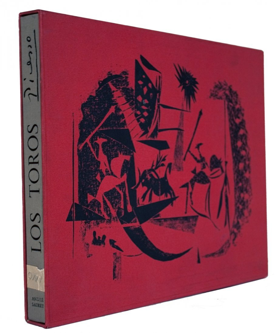 1961 A Los Toros Avec Picasso Mourlot Book