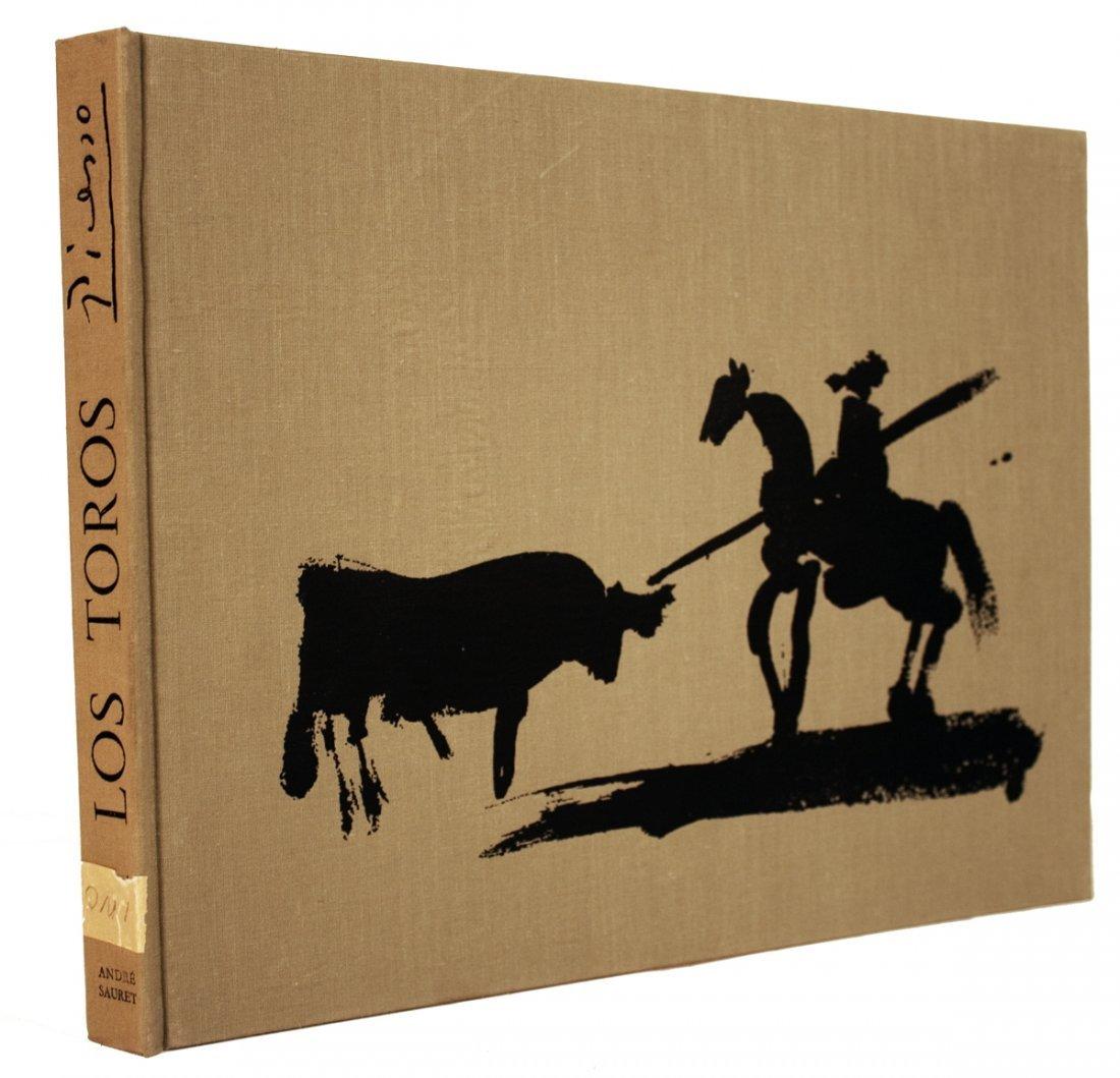 1961 A Los Toros Avec Picasso Mourlot Book - 2