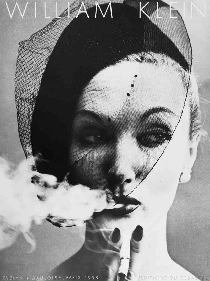 Cnac Com Payment >> Klein Evelyn + Gauloise, Paris (1958) Poster