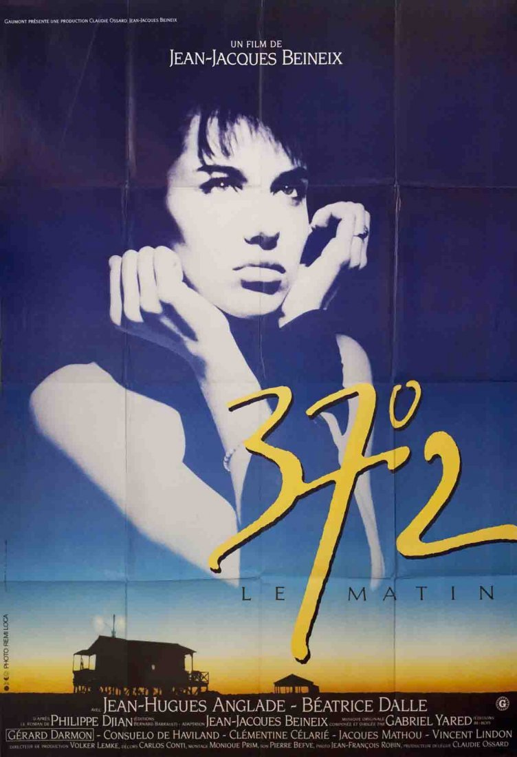 1986 37.2 le Matin (Betty Blue) Poster