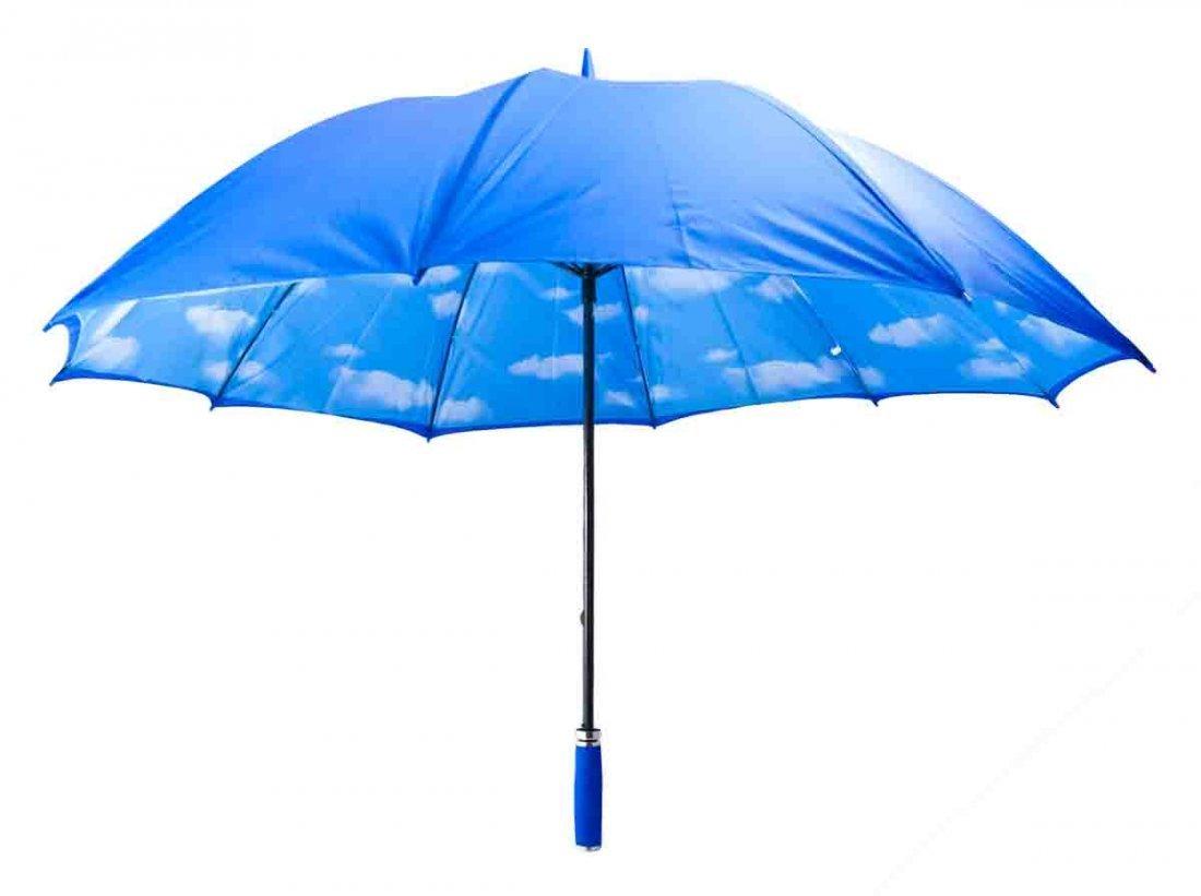 Rene Magritte Clouds Umbrella