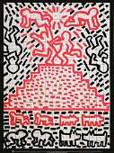 1990 Haring Untitled (1981) Poster