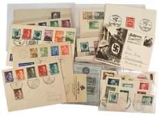 German WWII postal covers etc