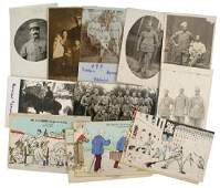 Lot of 22 French WWI post cards