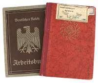 Lot of 2 German WWII ID booklets