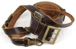 German WWII Officer belt and cross strap