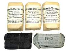 Lot of German WWII unopened bandages
