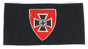 German WWII NS RKB War Veteran armband
