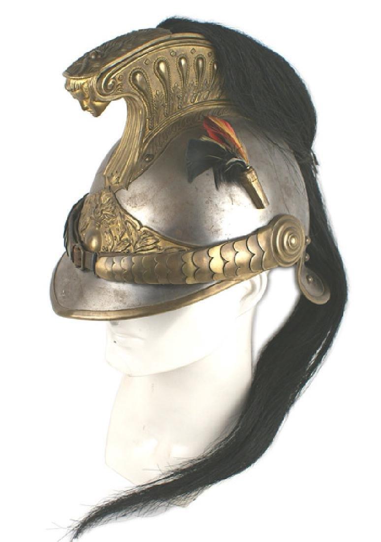 French Cuirassier helmet Third Republic