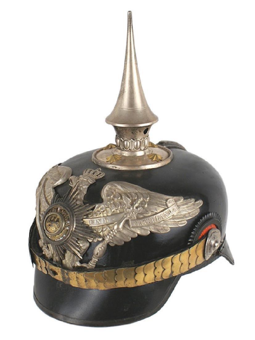 Imperial German Prussian Garde zu Fuss helmet