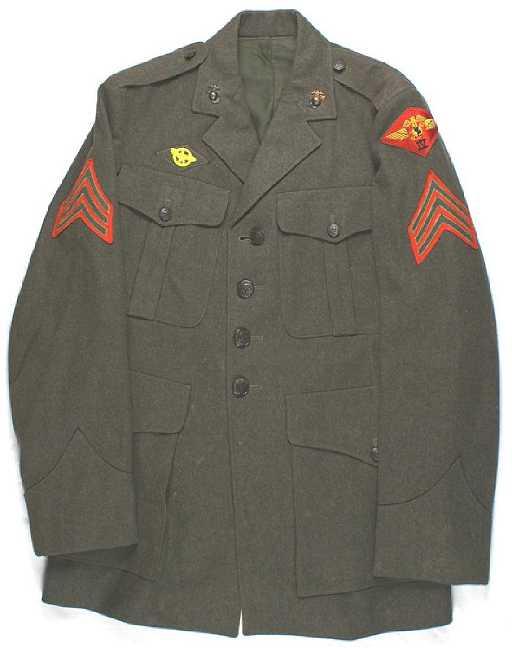 2fc82c2678199 U.S. WWII Marine Corps tunic