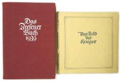 Lot of 2 German books BILD DES KRIEGES
