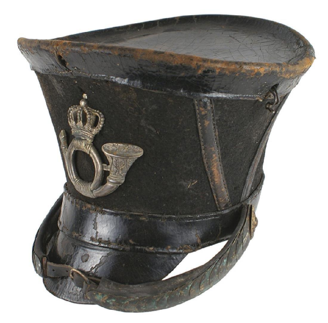 Napoleonic era Prussian M1808 Officer Jager shako