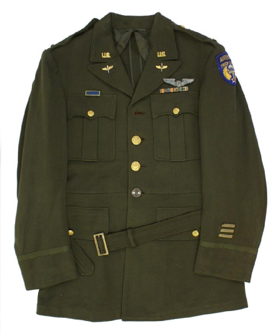 U.S. WWII Glider Pilot Uniform etc grouping 2nd Lt.