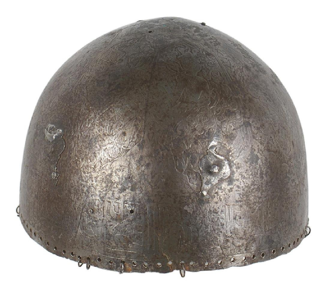 Persian/Northern India Kulah Khud helmet
