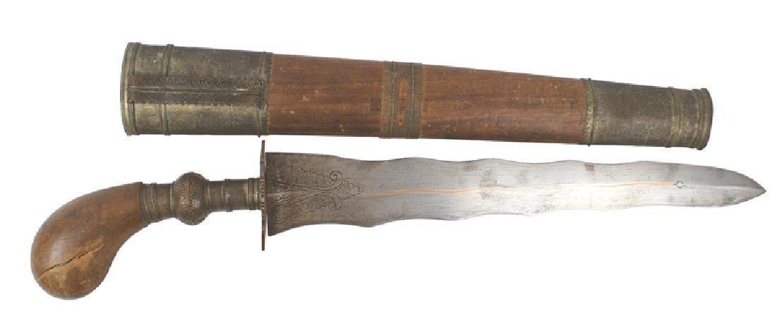 Moro South Pacific variation kriss knife