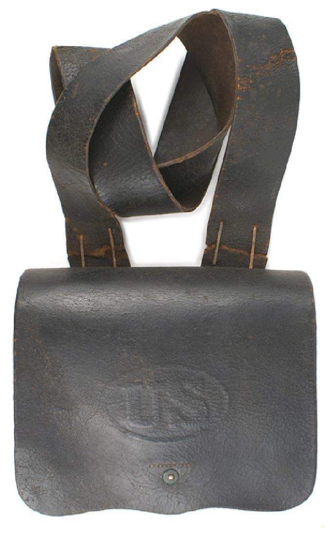 Civil War Union 58 cal. Cartridge box