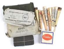 German WWII shell dressings cigarette holders WHW
