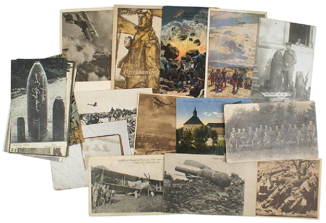 Lot of 25 German WWI postcards