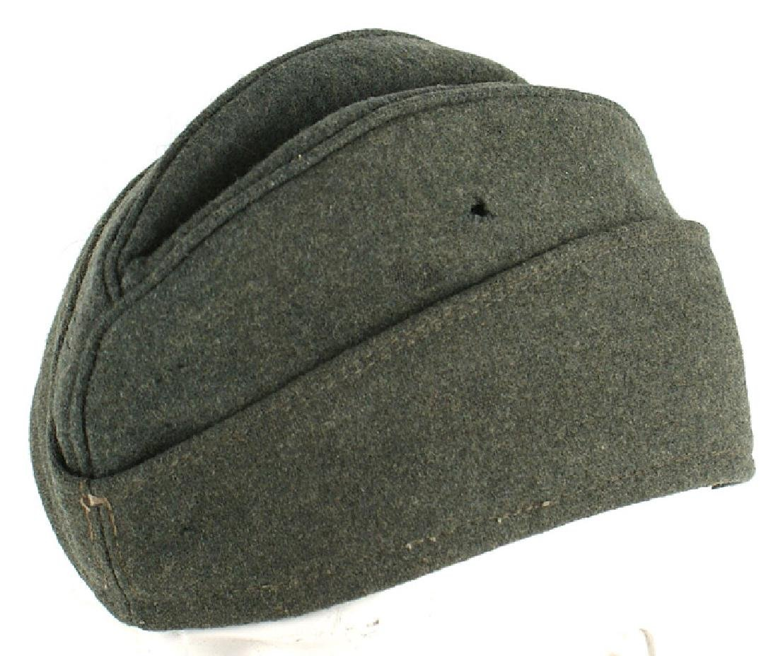 German WWII Waffen SS EM overseas cap