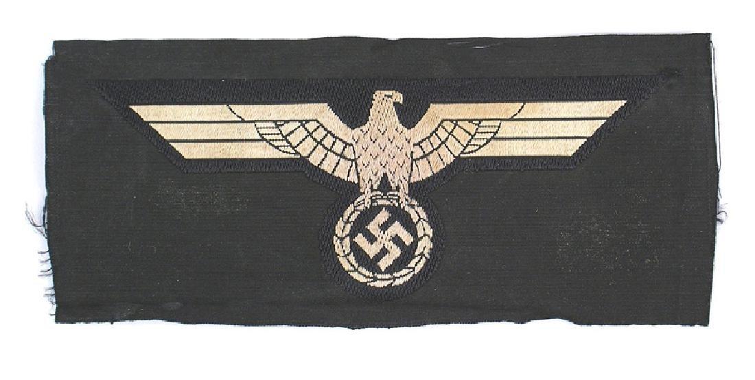 German WWII Panzer EM breast eagle